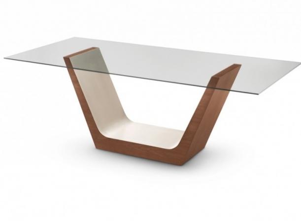 Base mesa jantar madeira laka dispon vel em tr s tamanhos for Bases de mesas cromadas
