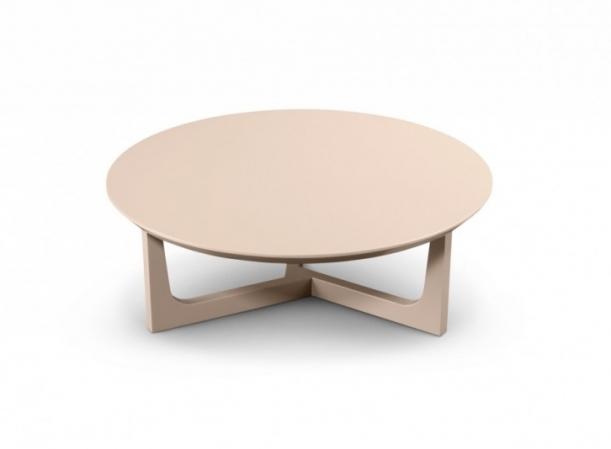 Mesa centro redonda madeira ou laca v rios tamanhos for Mesa de centro blanca